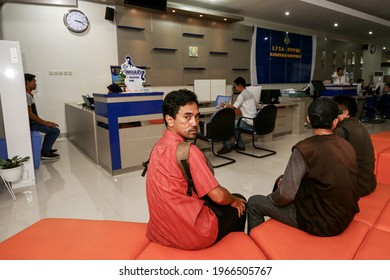 Passport making services in Class II Cilacap Immigration at the Banyumas District Public Service Mall ( Mal Pelayanan Publik Kabupaten Banyumas ). Purwokerto 26 August 2019