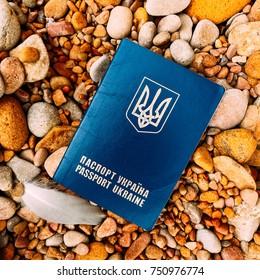 passport on the ground