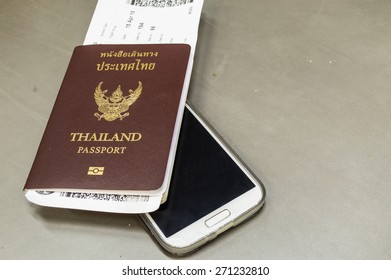 passport with phone