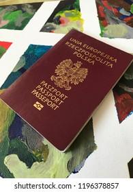 passport in Poland, Polonia