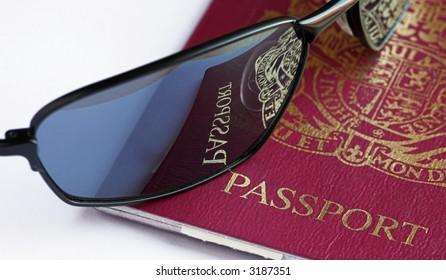 Passport And Shades