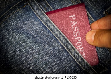 Passport stolen from back pocket