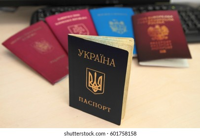 Passports of different countries