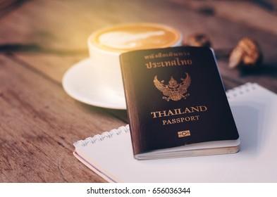 Passport,Travel Plan concept