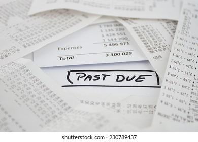 Past due bills to be paid