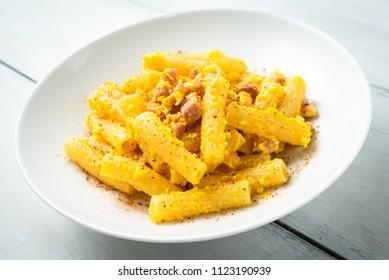 Pasta Carbonara, Italian Food