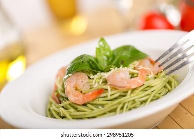 Pasta, Food, Plate.