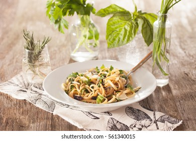 Pasta with Fresh Herbs
