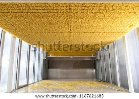 Pasta manufature conveyor