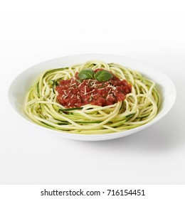 pasta spaghetti with vegetables ketchup from vegetables Italian food healthy food