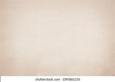 Pastel abstract fabric cream texture background. Wallpaper or artistic wale linen canvas.