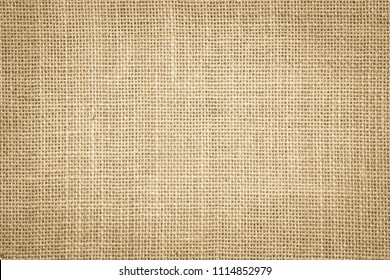 Pastel abstract Hessian or sackcloth fabric or hemp sack texture background. Wallpaper of artistic wale linen canvas. Blanket or Curtain of cotton pattern with copy space for text decoration.
