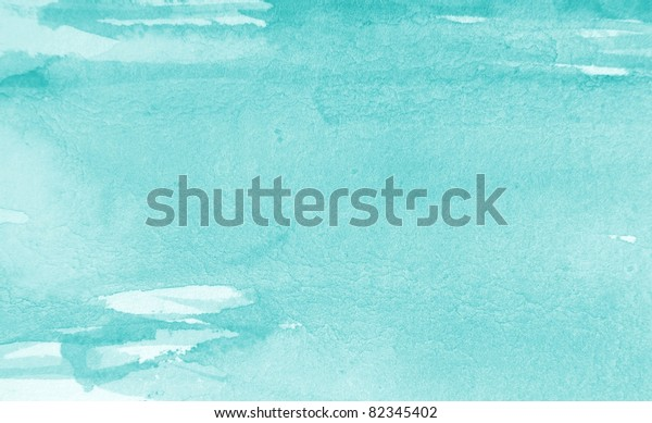 Pastel Blue Watercolor Background 1 Backgrounds Textures Stock Image 82345402