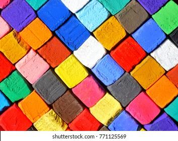 pastel chalk background
