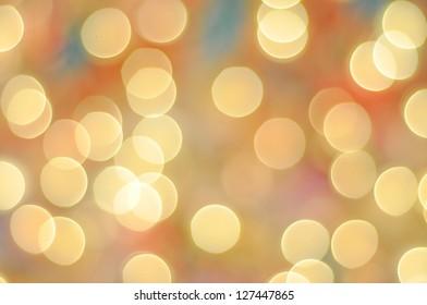 Pastel color Bokeh Background