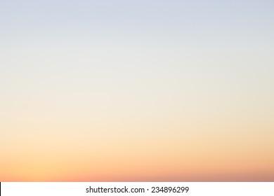 Pastel color gradient sunrise sky background