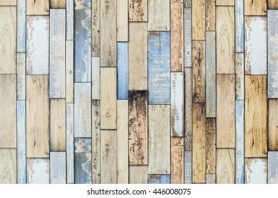 Pastel color wood pattern