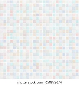 pastel colored ceramic tile wall bathroom or kitchen background