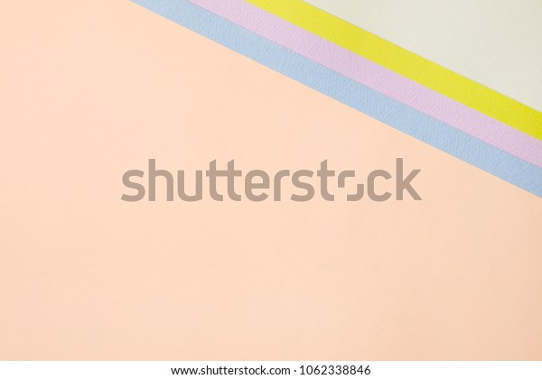 pastel colored papers background. beautiful layout.