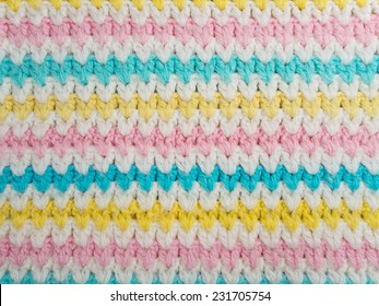 Pastel Colored Wool Background