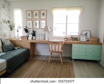 pastel decorating ideas for working room design