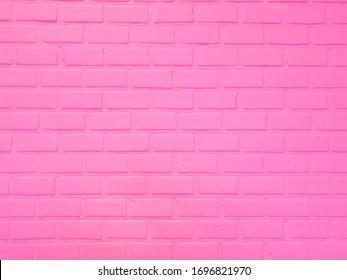 pastel pink brick background wallpaper