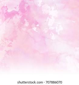 Pastel pink watercolour texture background