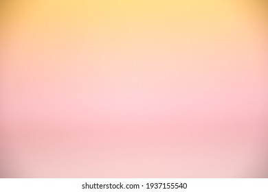 pastel pink and yellow gradient empty background