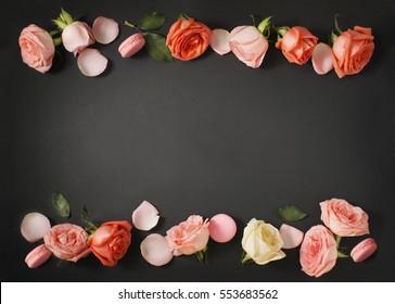 Straight Line Borders Clip Art : Floral border images stock photos & vectors shutterstock
