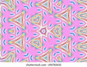 Pastel tribal ornaments  pattern,aztec fancy abstract geometric art print. ethnic hipster backdrop. Wallpaper, cloth design, fabric, paper, cover, textile, weave, wrapping.