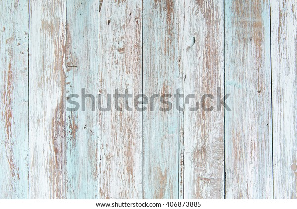 pastel wood wooden white blue With plank texture wall background Through use wash Giving a feeling of looking old and beautiful