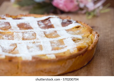 Pastiera: traditional Easter tart from Naples