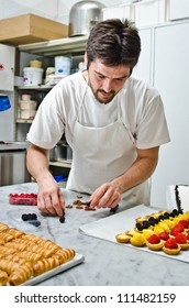 A pastries making
