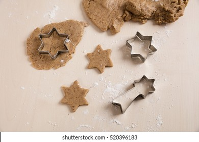 Pastry for christmas biscuit