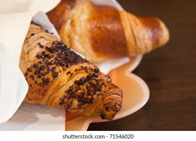 pastry, croissants