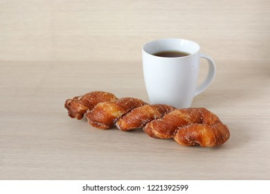 pastry with a cup of tea