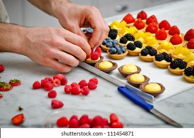 A pastry making