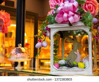 Pastry Shop Easter Vitrine