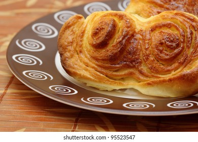 Pastry from yeast dough