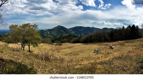 Pastures in the mountains of Saitama, Japan