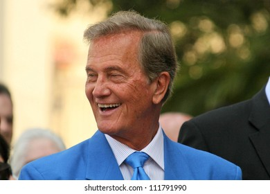 Pat Boone at the Ceremony honoring Mike Curb with a star on the Hollywood Walk of Fame. Vine St, Hollywood, CA. 06-29-07