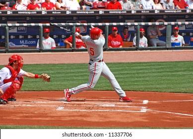 Pat Burrell of the Philadelphia Phillies