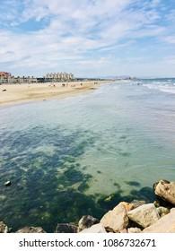 Patacona beach in the beautiful city of Valencia, Spain