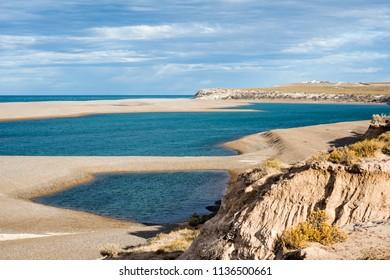 Patagonia Coastline, Peninsula Valdes, Argentina