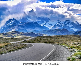 Patagonia roads and the Andes