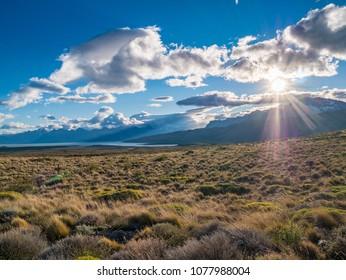 Patagonia sunset el calafate