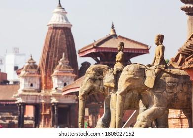 Patan durbar square, Kathmandu city in Nepal