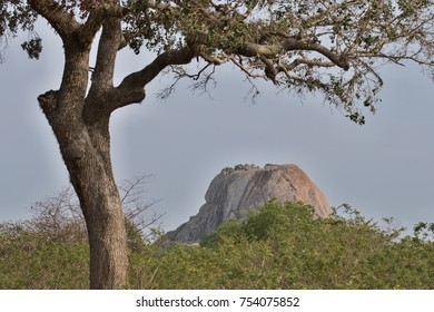 Patanangala, rock in the Yala National Park.