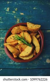 Patatas Bravas, Baked Potatoes, Spanish Tapas