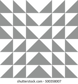 Patchwork mosaic pattern in gray color